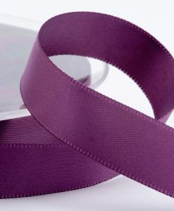 (Col. 43 ) Amethyst Double faced Satin