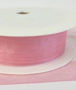 Baby Pink Organza Ribbon