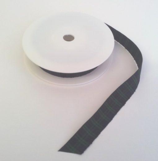 Blackwatch Polyester Tartan 16mm x 25m 1