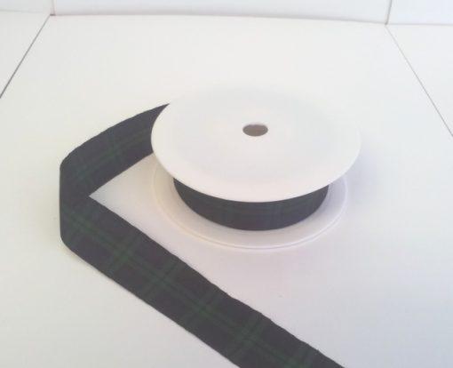 Blackwatch Polyester Tartan 25mm x 25m 1
