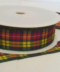 Buchanan Polyester Tartan 25mm x 25m