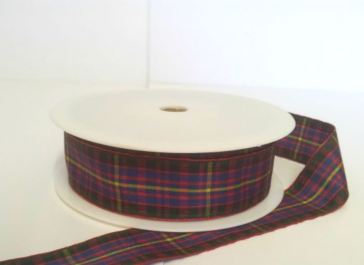 Cameron Polyester Tartan 25mm x 25m 1