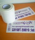 Diamond Clear Label Material 100mm x 25m