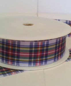 Dress Stewart Polyester Tartan 25mm x 25m