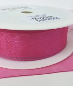Fuschia Organza Ribbon