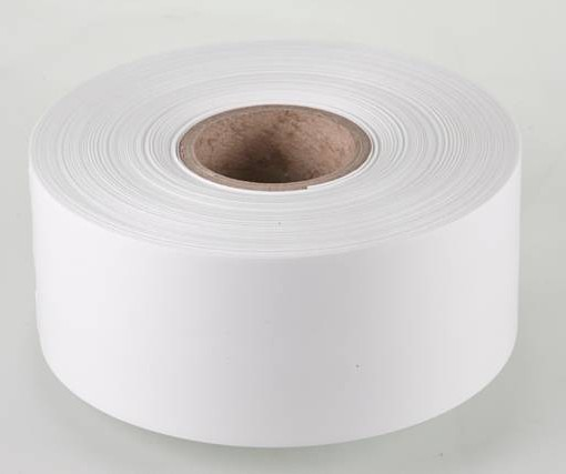 Iron on White Label Material 50mm x 25m 1