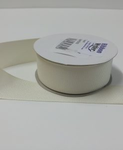 Luxury Cream Grosgrain Ribbon