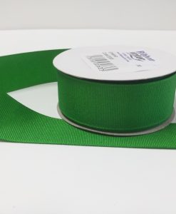 Luxury Emerald Grosgrain Ribbon