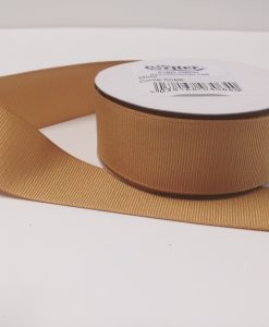 Luxury Gold Grosgrain Ribbon