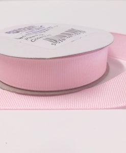 Luxury Pale Pink Grosgrain Ribbon