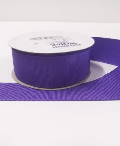 Luxury Purple Grosgrain Ribbon