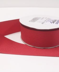Luxury Red Grosgrain Ribbon
