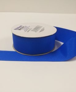 Luxury Royal Blue Grosgrain Ribbon