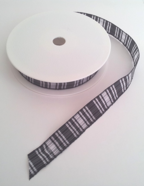 Menzies Polyester Tartan 16mm x 25m 1