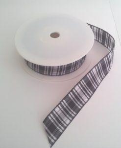 Menzies Polyester Tartan 25mm x 25m