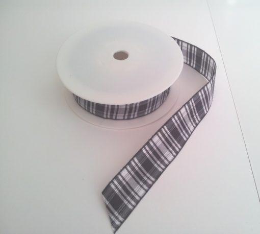 Menzies Polyester Tartan 25mm x 25m 1