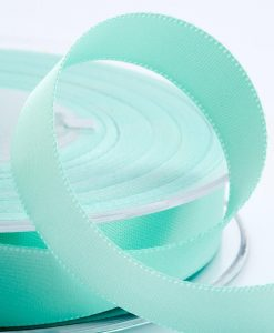 ( Col. 60 ) Mint Double Faced Satin Ribbon