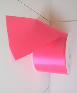 Neon Pink Fiesta Ribbon 100mm x 50m