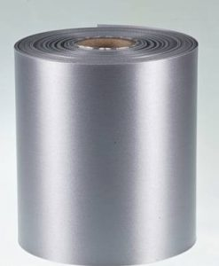 Pewter Polyester Ribbon