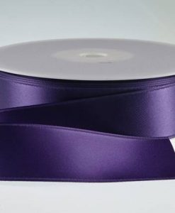 ( Col. 48 ) Purple Double Faced Satin