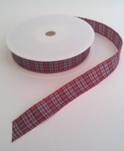 Royal Stewart Polyester Tartan 16mm x 25m
