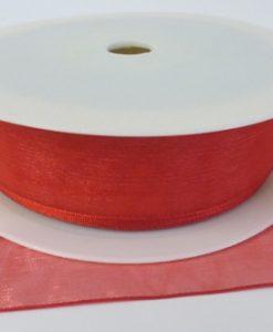 Scarlet Organza Ribbon