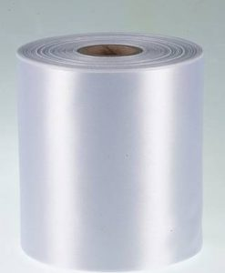 White Polyester Ribbon