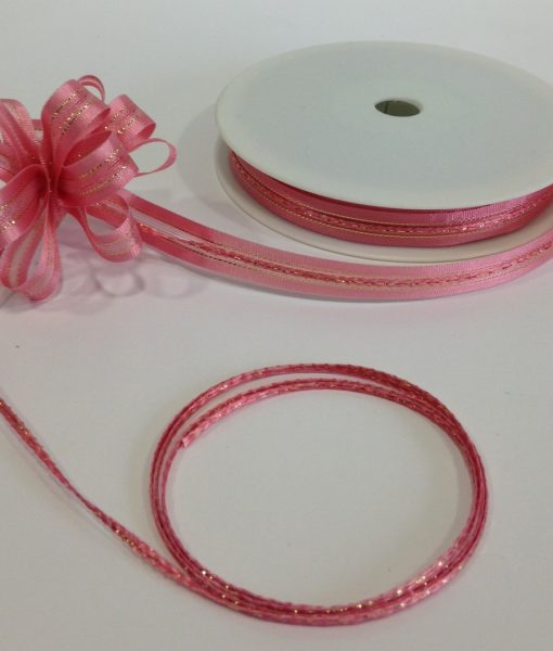 Pull Bow 10mm Pink