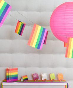 4189 Rainbow pride bunting example 1