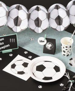 4997 Football soccer bunting example