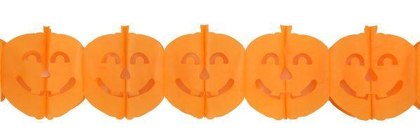 5040 12 Pumpkin bunting