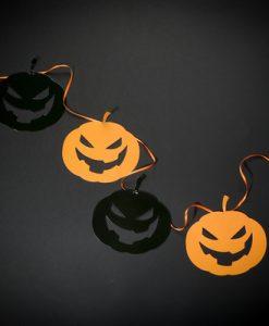 70303 Halloween pumpkin bunting example 2