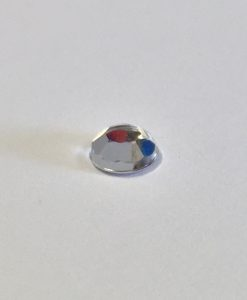 Clear 5mm Round Gem pack of 100