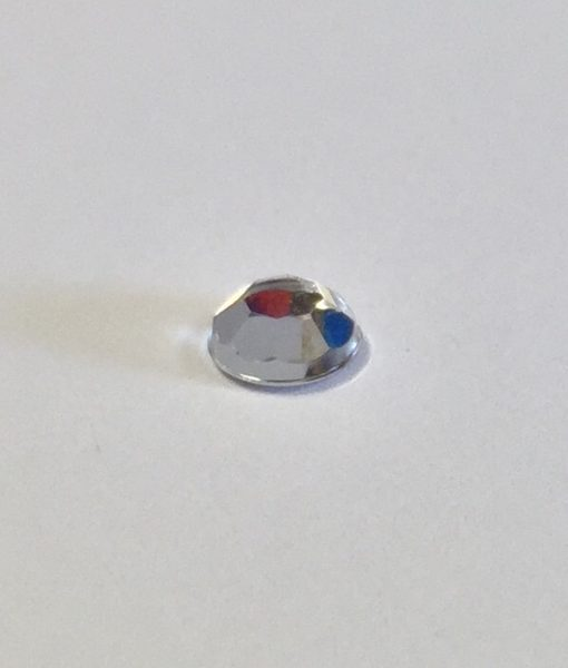 Clear 5mm Round Gem pack of 100 1