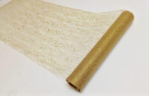 Glittered Table Runner 30cm x 5m 444503/444604