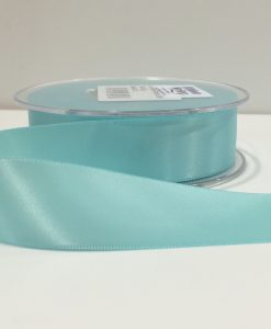 ( Col. 71 ) Duck Egg Blue Double Faced Satin