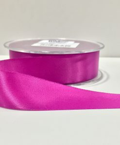 ( Col. 25 ) Clover Pink Double Faced Satin