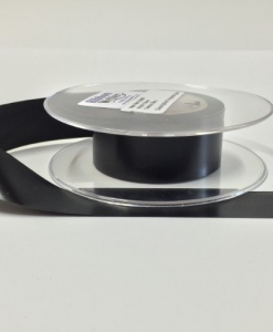 Black Slit Edge Washable Polyester label material 25mm x 50m