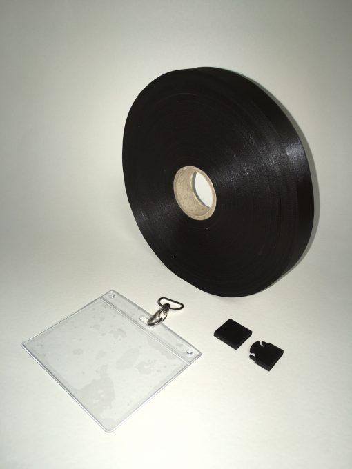 Black lanyard 20mm 1