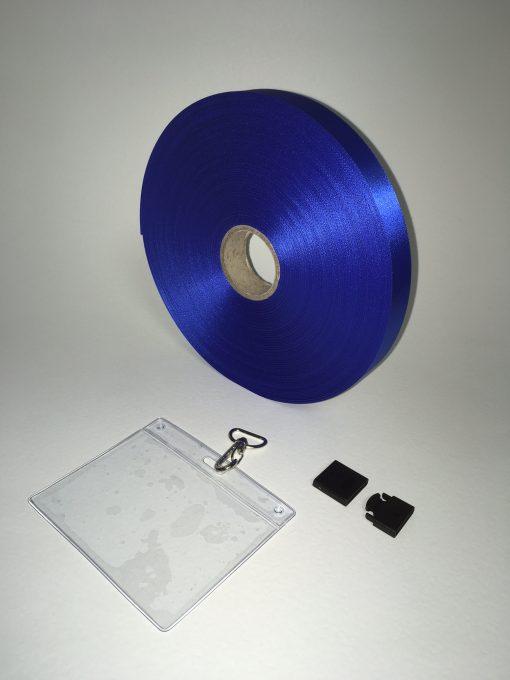 Blue lanyard 20mm 1