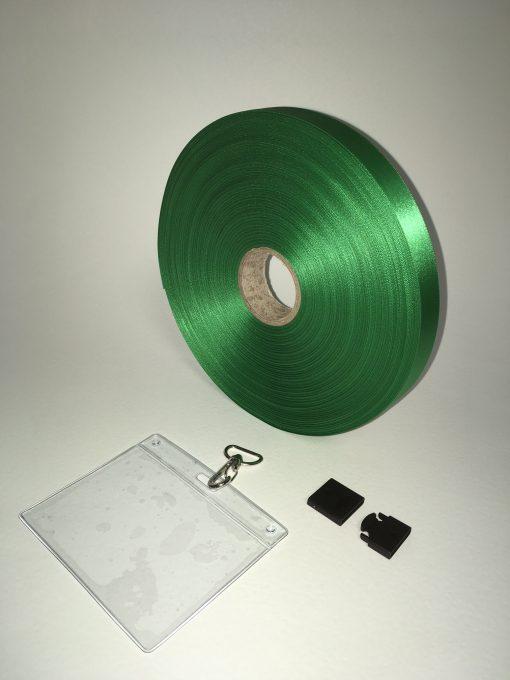Green lanyard 20mm 1