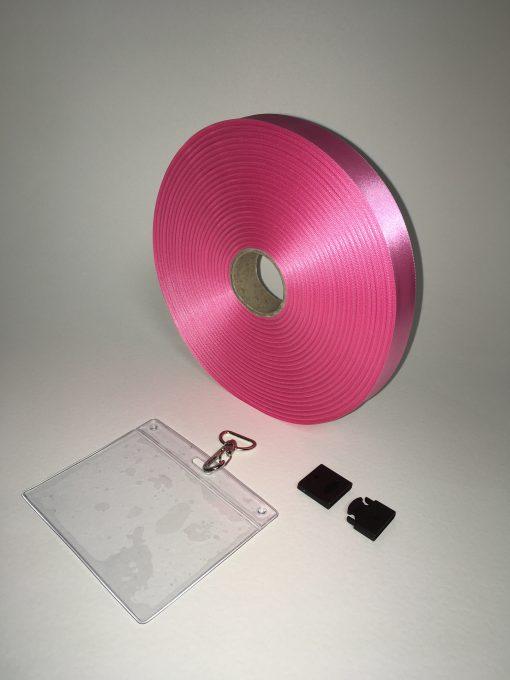 Pink lanyard 20mm 1