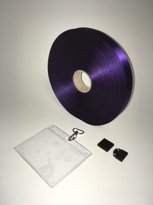Purple lanyard 20mm 1