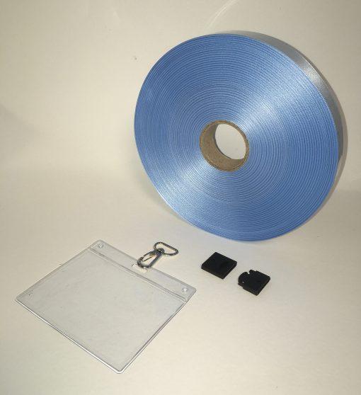 63861020100 Blue lanyard ribbon