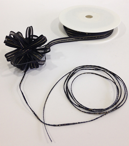 Pull Bow 10mm Black web image