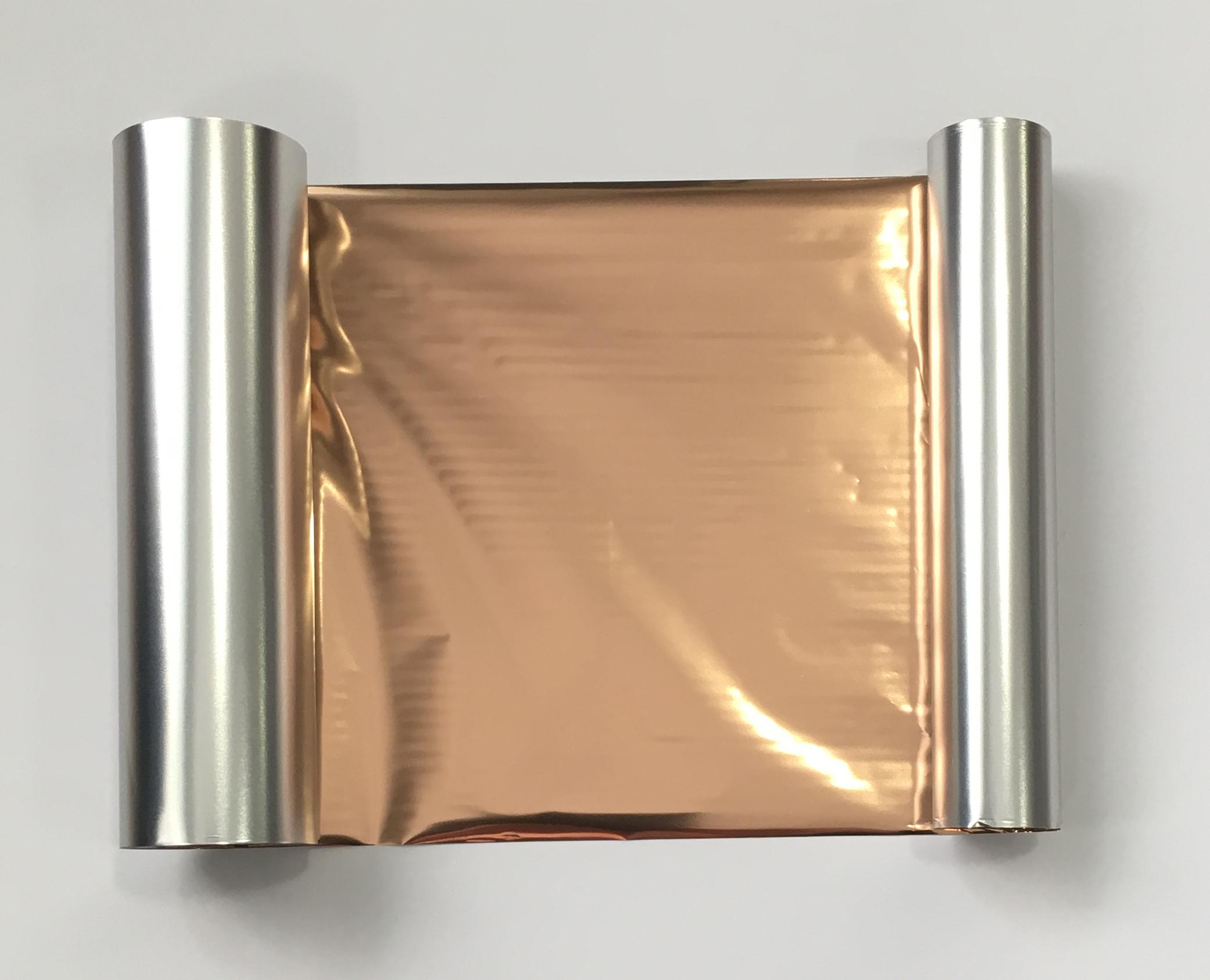 Transfer Foil Metallic Rose Gold 110mm X 60m Ribbon Writer