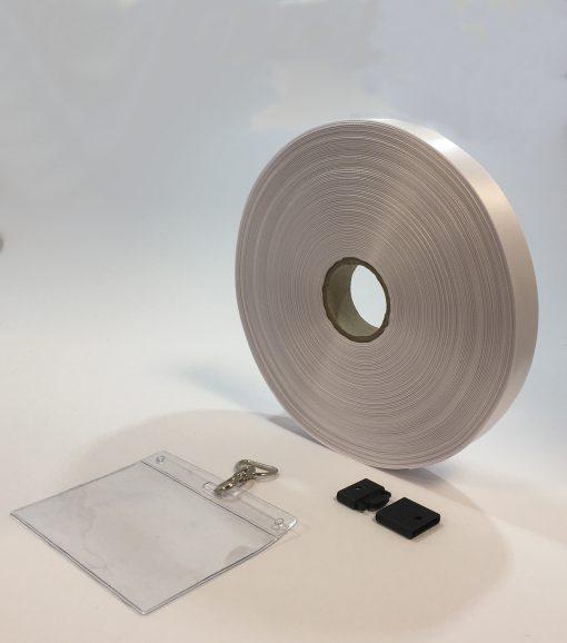 White Lanyard 638910 20mm x 100M